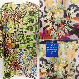 Embroidered Raj Imports Tunic